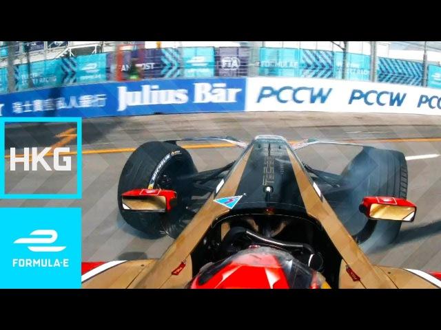 JEV Crosses Line Backwards; Takes Pole!   2017 HKT Hong Kong E-Prix Round 1