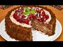 Torta Medovik al cioccolato (Spartak) - Una vera delizia a strati con mousse ai lamponi.