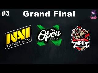 Grand Final NaVi vs Empire #3 (bo3) PGL Open Bucharest