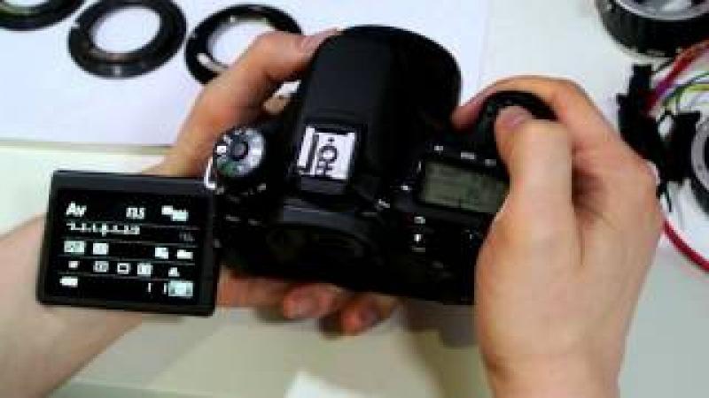 УРОК 4 ПРОГРАММИРОВАНИЕ ФРОНТ/БЭК ФОКУСА одуванчика Gfoto X PRO для Canon EOS