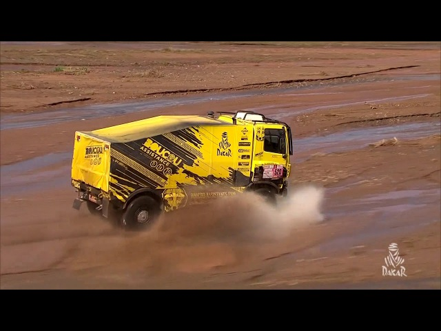 The Truck Minute - Stage 12 (Fiambalá / Chilecito / San Juan) - Dakar 2018