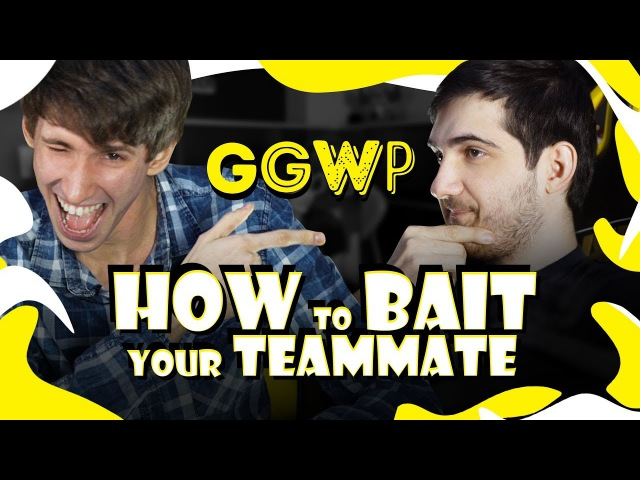 GGWP Dendi vs RodjER How to bait your teammate