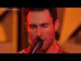 Maroon 5 - I Wanna Be Your Lover (Prince Cover) (Amex EveryDay LIVE) 2014