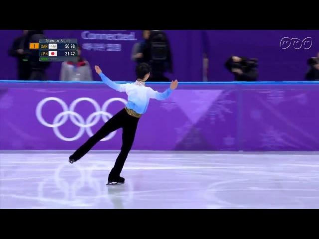 2018平昌冬奧 花式滑冰男單短曲 羽生結弦零瑕疵的完美演出
