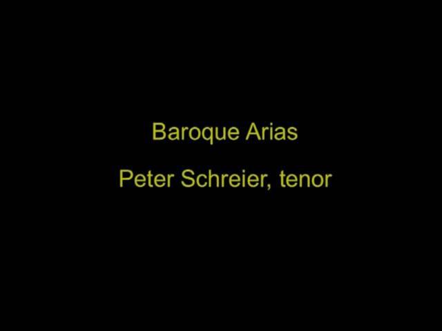 Peter Schreier – Belcanto-Arien Aus Italienischen Opern, Kammerorchester Berlin, Helmut Koch