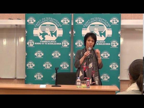 Ника Стрижак - мастер-класс в СПбГИКиТ (1.11.2012)