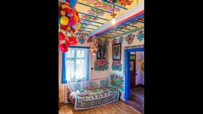 Бабушка из Польши превратила свой дом в произведение искусства