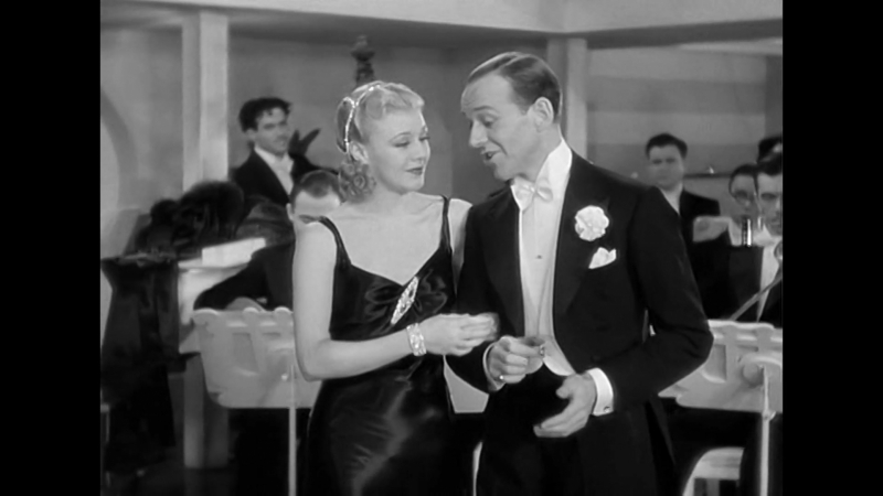 Lovely to Look At - Fred Astaire and Ginger Rogers) Песня и танец) Финальный эпизод с ХФ Роберта (1935)