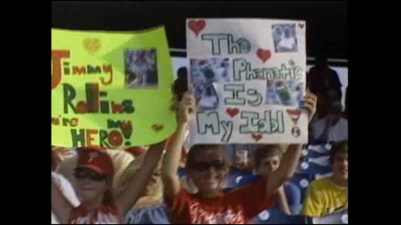The 2007 NL East Division Champions Phillies Video Yearbook (Goosebumps) (89-73)