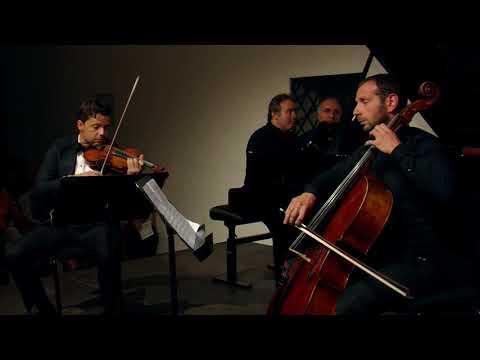Beethoven Piano trio in D major op. 70 No. 1 Ghost (1. movement) - Volodin, Rachlin, Andrianov
