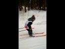 Мой юный лыжник!