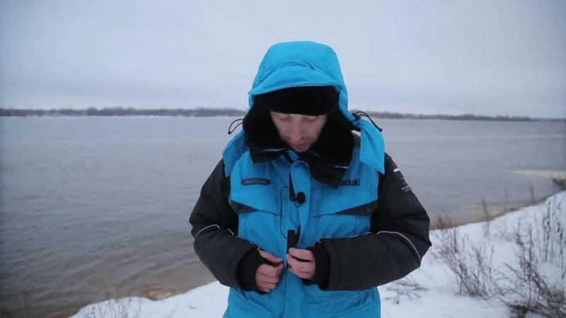 Ловля КРУПНОГО окуня зимой! Испытание зимних костюмов Аляскан и Новатур в Сибири! Часть 2