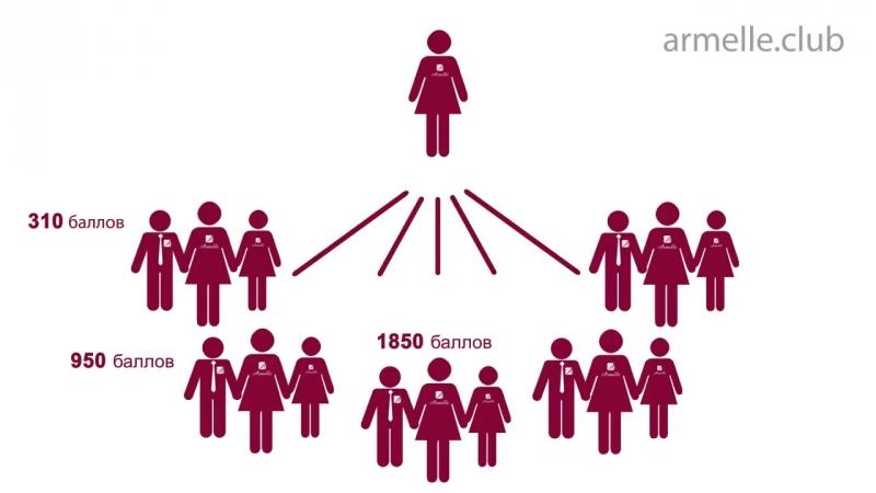 Маркетинг план компании Armelle - Армель