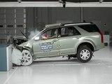 2004 Cadillac SRX moderate overlap IIHS crash test