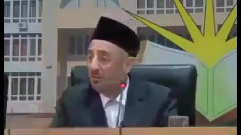 Сын, Шейх Рамазан Аль Бути!