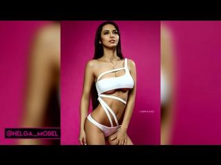 Helga Lovekaty  Sexy Model Compilation 2016