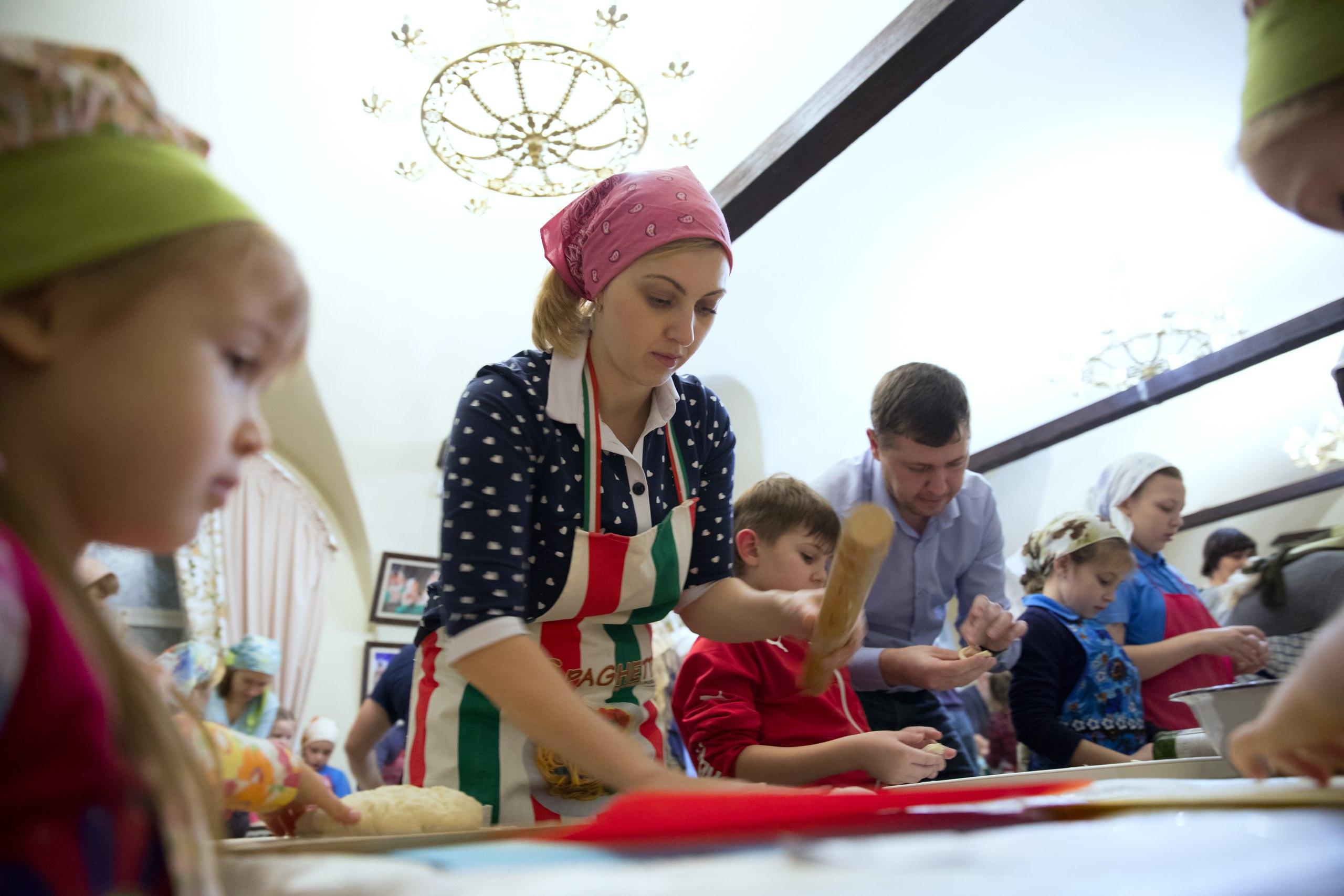 В Казанской православной гимназии состоялась пельменная вечерка