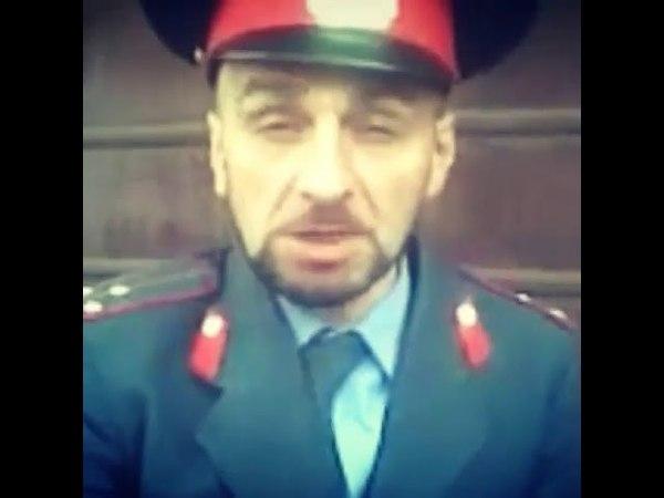 Асхаб Бурсагов при исполнении