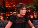 MILLA JOVOVICH on Last Call with Carson Daly 2006