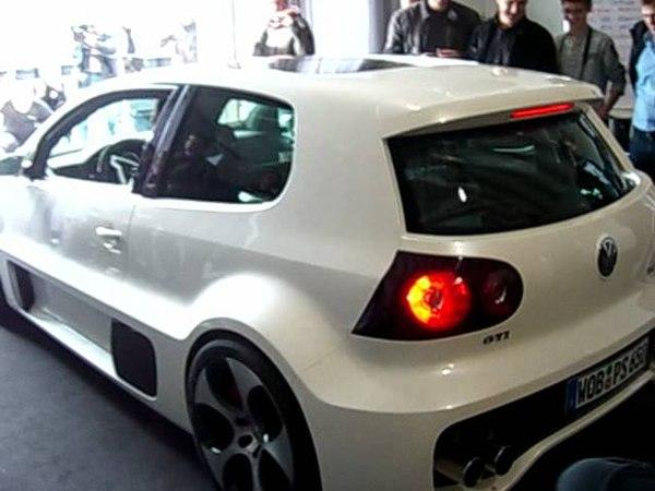 Golf GTI W12 650 Starten des Motors
