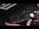 Focusrite Scarlett 2i2 video review