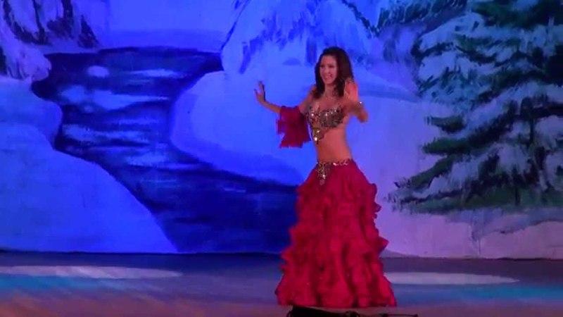 Прекрасный танец живота!Екатерина Халезина (Katerina Khalezina) Baladi- Armen Kusikian