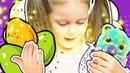 ЯЙЦО Гигант Хэтчималс и Киндер Сюрприз Пасхальные яички превращаем в игрушечные Видео для детей