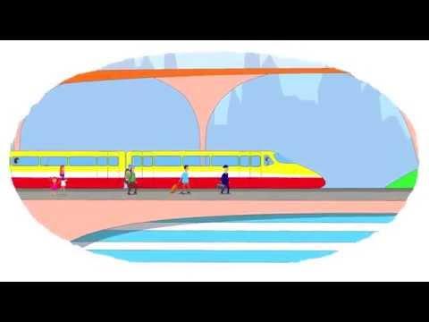 Zeichentrick-Malbuch - die berühmten Eisenbahnzüge. Teil 2