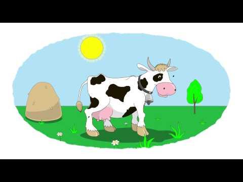 Zeichentrick-Malbuch - Schaf, Kuh, Schwein