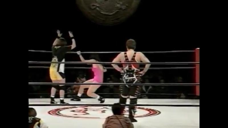 13. Chigusa Nagayo vs. Sakura Hirota (1.12.1997)