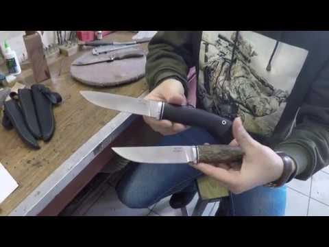 Тест ножа из стали М390 Кузницы Назарова В.В.