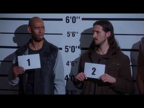 Brooklyn Nine-Nine - FUNNIEST INTRO SCENE EVER - suspects sing Backstreet Boys song - S05E17