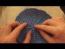 Мастер-класс по вязанию шляпки-колокольчику крючком Часть 1. How to crochet a ba