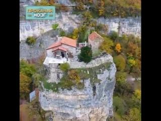 Соседи точно не потревожат! Крепость одиночества в Грузии ...