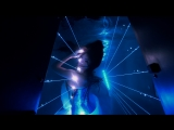 Underwater Laser (Blue) - 4K