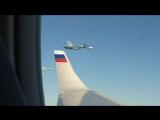 Истребители ВКС РФ сопроводили самолет с Путиным в Сирии