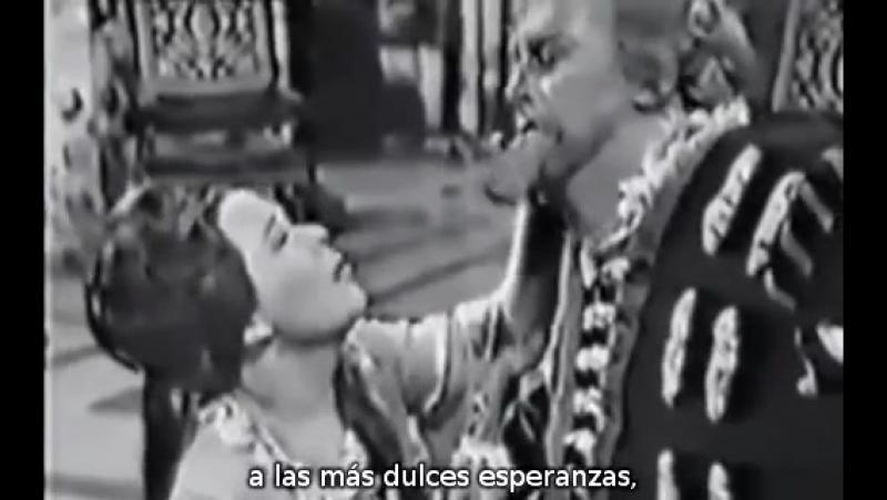Тито Гобби и Рената Скотто - сцена и ария Риголетто и сцена с Джильдой из оп.Дж.Верди РИГОЛЕТТО