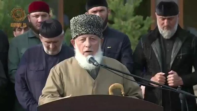 Открытие школы хафизов имени шейха Ташу-Хаджи Саясановского