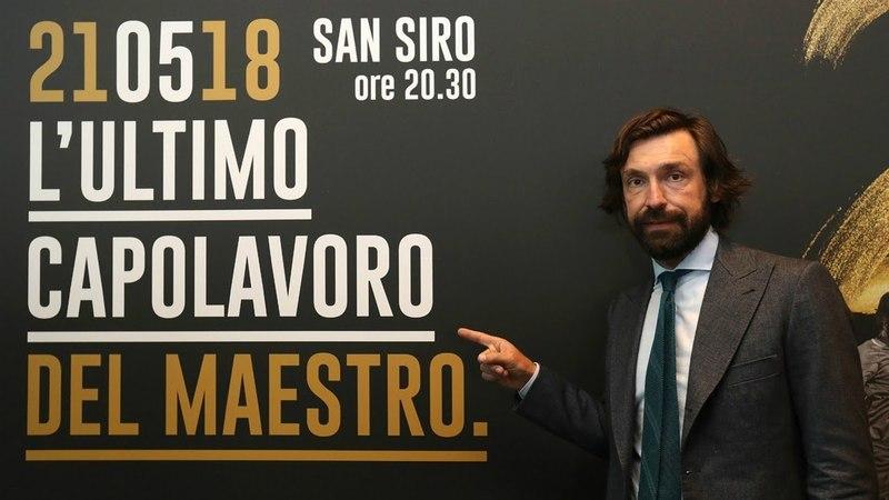 La notte del Maestro: la diretta dell'addio al calcio di Andrea Pirlo in LIVE streaming