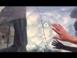 Корреспондент «Звезды» показал прошитый пулями автобус раненых российских журналистов в Сирии