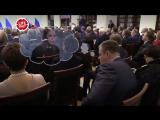 Слуцкий заснул во время выступления Путина