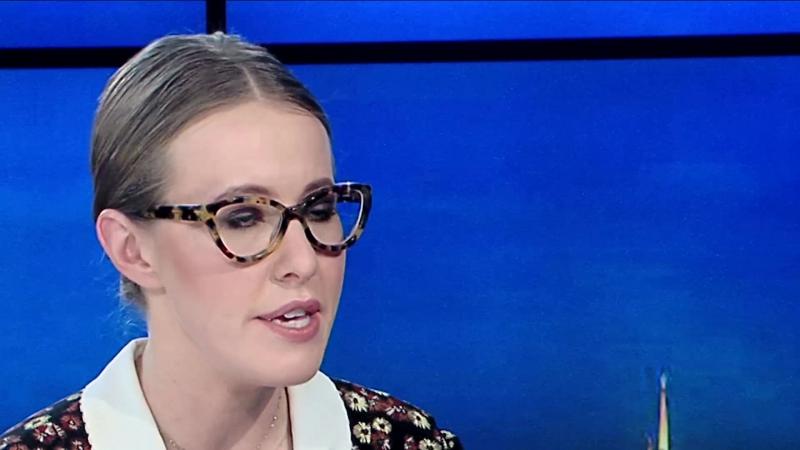 Первое интервью кандидата в президенты Ксении Собчак