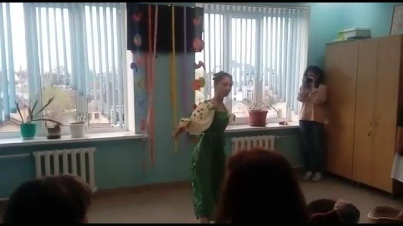 Танец Березки! Пасхальный концерт в детской больнице балетной студии Гармония!