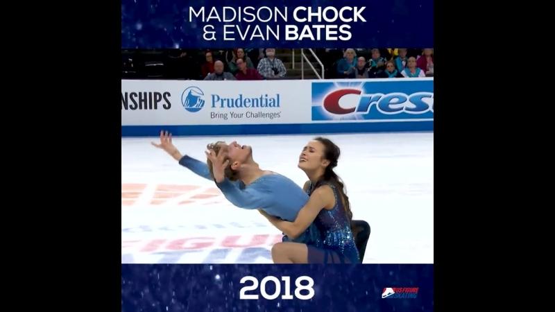 Through The Years_ Madison Chock and Evan Bates