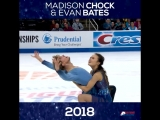 Through The Years_ Madison Chock and Evan Bates