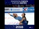 Through The Years Madison Chock and Evan Bates