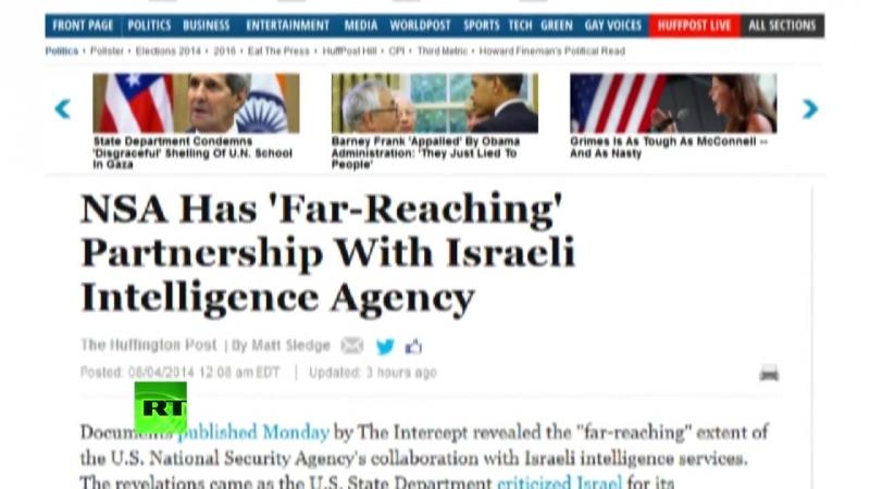 США активно сотрудничают с Израилем в области разведки