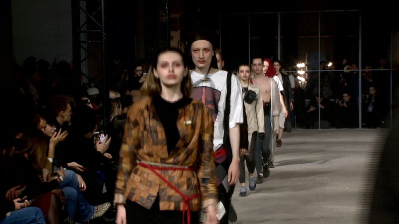 Mersedes-Benz Fashion Week Russia Fall Winter 2018/19 Collection: Naidal Horror