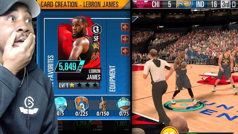 NBA 2K MOBILE GAMEPLAY! CARD CREATION, DIAMOND PLAYERS, EQUPPING SHOES, SEASON MODE MORE! Ep. 2