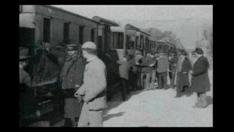 Прибытие Поезда На Вокзал Города Ла-Сьота 1896